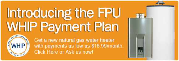 FPU Water Heater Incremental Payment Plan